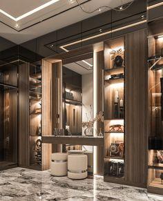 The Dream: The Walk in Closet Walk In Closet Design, Bedroom Closet Design, Closet Designs, Home Room Design, Wardrobe Design, Modern Luxury Bedroom, Luxurious Bedrooms, Tiny Bedrooms, Luxury Bedroom Design