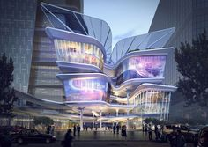 Aedas Reveal Dynamic New Design For The Shenzhen Luoho Friendship Trading Centre