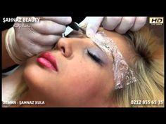 Kalıcı Makyaj Uygulaması - Kaş - YouTube