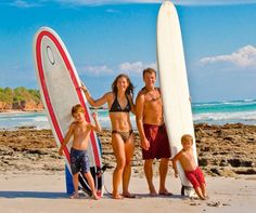 Surfing family