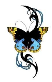Down Syndrome tattoo.  I would love to put Colton's footprint from birth in the middle of the butterfly.