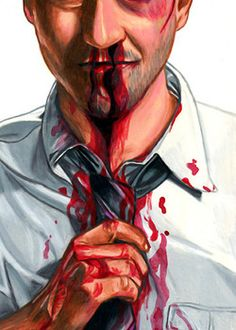 Fight Club - The Narrator by Cuyler Smith *