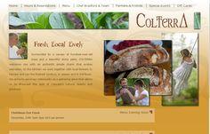 Online Restaurant Website colterra.com POWERED BY FSD!;)