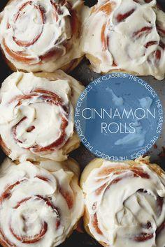 The Classics: Cinnamon Rolls