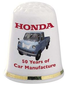 Thimbles+From+around+the+World+|+Home+Thimbles+Commemorative+Honda+50th+Anniversary+Thimble