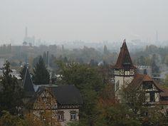 Reinland Pfaltz, Frankenthal Germany I love you, Germany! (nice BASF plant in the background - ha!)