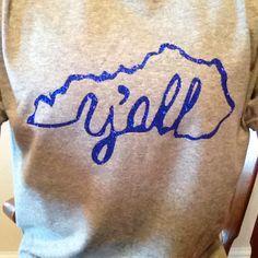Iron-on Kentucky shirt