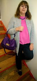 Today on the #fashion #blog featuring @ASOS.com Zara @Marc Jacobs Intl @Liza Casulli #fbloggers #ootd #handmade http://thomaisadventuresinfashionland.blogspot.mx/2014/02/pink-and-cobalt.html?m=1