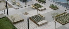 Plaza de les Casernes by Carulla . Miralles (Vilanova i la Geltrú, Catalonia, Spain) #architecture
