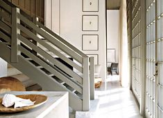 wooden stair case - betsy brown.