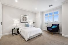 Stunning Sunday: Brand new weatherboard for sale in Essendon, Melbourne, VIC Melbourne House, The Hamptons, Sunday, Room Decor, Real Estate, Bedroom Inspiration, Bedroom Ideas, Brand New, Interior Design