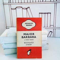 In love with this #Vintage edition of #MajorBarbara by #BernardShaw   #Vintagebooks #vintagegifts #bluebellabbey #love #books #interior #design