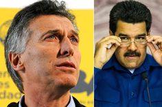 ¡MADURO SE RETUERCE! Presidente Macri: En Venezuela no se respetan la democracia ni los derechos humanos - http://wp.me/p7GFvM-BAM