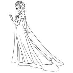 Meer dan 1000 ideeën over Frozen Kleurplaten op Pinterest ...