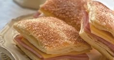 La Salteña Recetas. Fosforitos de jamón y queso.