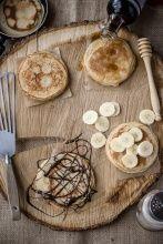 Recette Pancakes aux yaourts de Chèvre Soignon   Soignon
