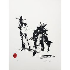 """Limited Edition Print, """"Man with Drinking Horse"""" // whitesmercantile.com"""