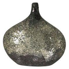 Dale Tiffany 12H in. Quartz Mosaic Vase - (Bedroom)