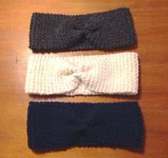 Lucette and Suzette: Passion knit: the headband - Knitting 02 Headband Laine, Knitted Headband, Bandana, Diy Laine, Baby Love, Diy Fashion, Headbands, Sewing Patterns, Knitting