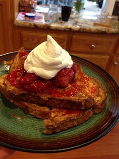 How to Make the Bomb Strawberry French Toast! Recipe