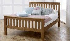 Malvern High Foot End Wooden Bed Frame
