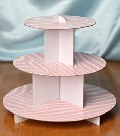 3 Tier Round Light Pink Zebra Print Desert Tower or Cupcake Stands Set of 2 Individual Cup Cake Stands for Baby Showers Parties and Special Events * Details can be found by clicking on the image. Diy Crafts Hacks, Diy Home Crafts, Creative Crafts, Birthday Party Games For Kids, Birthday Diy, Baby Shower Parties, Baby Shower Themes, Baby Showers, Wedding Supplies
