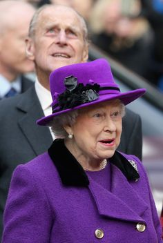 Queen Elizabeth II and Prince Philip Tours Southwark Cathedral 21 Nov 2013