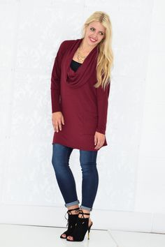 Hacci Sweater Tunic - My Sisters Closet
