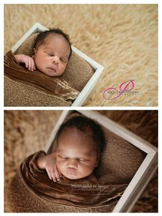 """Angles, angles, angles! They really do make a difference. This image was shot by two different photographers at the same time. The baby never moved or changed poses only the photographers moved. Neither image is """"wrong"""" but it gives great perspective on how angles can change the look and feel of an image.   Our online newborn posing and photography workshop has an entire section dedicated to angles: http://www.mcpactions.com/newborn-workshop.html."""