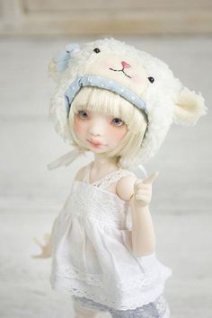 melina-dolls:♥Beautiful  Meël♥ by Plume Blanche Créations on Flickr.