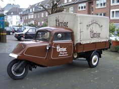 Mention the word Tempo to a German car nut, and something very different than the Ford Tempo will likely come to mind. It's easy to forget that in the fift Motorized Tricycle, Microcar, Small Trucks, Car Memes, Car Colors, Daihatsu, Pedal Cars, Unique Cars, Car Wheels