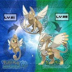 Gryphoon is evolving! When Gryphoon reaches level 38 It will evolve into… What? Gryphoon is evolving! When Gryphoon reaches level 38 It will evolve into . GRYPHICENT, the Majestic Wings Pokémon – GROUND/FLYING… Brock Pokemon, Pokemon Fake, Pokemon Oc, Pokemon Pokedex, Pokemon Comics, Pokemon Fan Art, Pokemon Images, Pokemon Pictures, Flying Type Pokemon