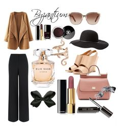 """Byzantium..."" by rashi2002 on Polyvore featuring Chloé, Dolce&Gabbana, Elise Dray, Jaeger, Elie Saab, Chanel and Charlotte Russe"