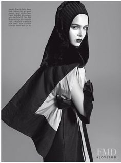 Pr�t-�-Porter in Vogue Italy with Josephine Skriver wearing Rick Owens - Fashion Editorial | Magazines | The FMD #lovefmd