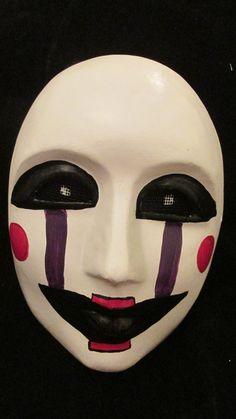 FNAF mask. Five Nights at Freddy's mask. FNAF by MyMascarade