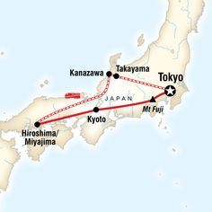 Experience the past at Takayama's folk village and Kyoto's historic centre, explore Kanazawa Castle, lose yourself in the picturesque Kenroku-en Garden and the 'Ninja' Temple, marvel at iconic Mt Fuji and Miyajima's floating Torii Gate