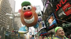 Mr. Potato Head at the Macy's Thanksgiving Day Parade.