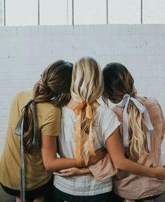 Love wearing ribbons