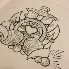 nautical tattoo I would make a few small changes