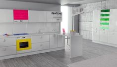 Pantone Universe appliances by Studio Antonio Lanzillo & Partners.