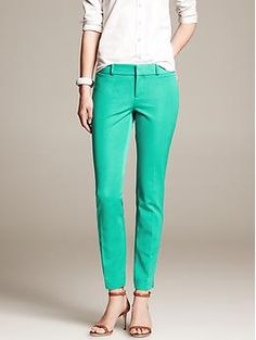 Banana Republic Sloan-Fit Slim Ankle Pant - Pants. I'll go ahead and take all of the Sloan fit, thanks.