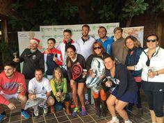 En la fiesta de Navidad de #ClubDeTenisValencia entregamos productos de #LaCuina y #Picken a los ganadores de los torneos.
