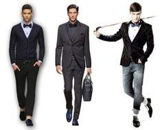 diferentes modelos de traje para formatura masculino