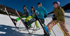 Kinder-Skikurs - Skiurlaub mit Kindern in Österreich - Kärnten. Sporthotel Frühauf direkt an der Skipiste Austria, Winter Vacations