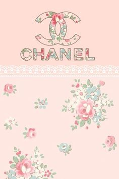 background, chanel, cute, floral, flowers, girly, pretty