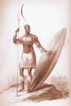 Kingdoms of Africa - King Shaka Zulu - the warrior king of South Africa.