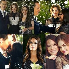 Pretty Little Liars Ella Montgomery and Byron Montgomery Wedding Aria Style, Pretty Little Liers, Holly Marie Combs, I'm Still Here, Abc Family, Most Romantic, Best Shows Ever, Kisses, Favorite Tv Shows