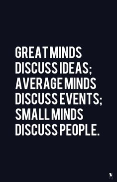 ideas, events, people