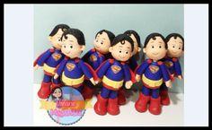 Super Heróis feitos em Biscuit