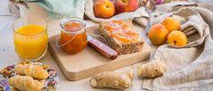 Μαρμελάδα βερίκοκο-ροδάκινο χωρίς ζάχαρη Peanut Butter, Dairy, Brunch, Food And Drink, Sweets, Cheese, Sugar, Healthy, Breakfast